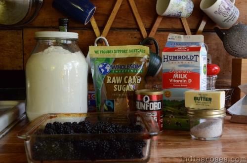 A Recipes for super easy and delicious Blackberry Cobbler: indiasroses.com