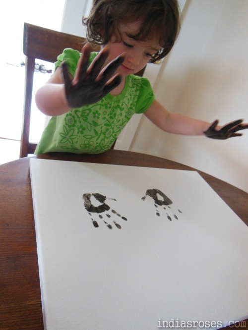 Making Contemporary Art with Children | indiasroses.com